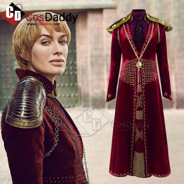 Game of Thrones Season 8 Cersei Lannister Costumes...