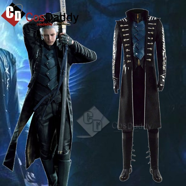 Cosdaddy Devil May Cry 5 DMC 5 Vergil Cosplay Game...