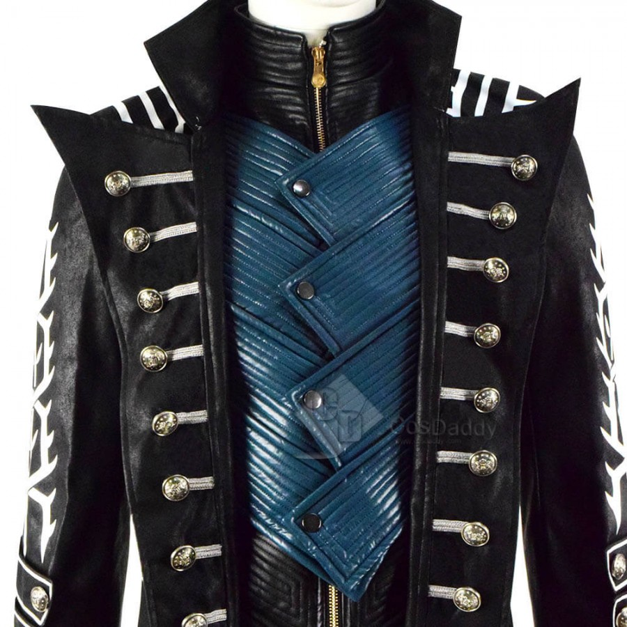 Cosdaddy Devil May Cry 5 DMC 5 Vergil Cosplay Game Costumes