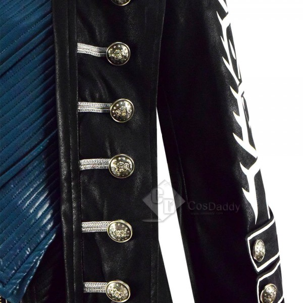 Cosdaddy Devil May Cry 5 DMC 5 Vergil Cosplay Game Costume