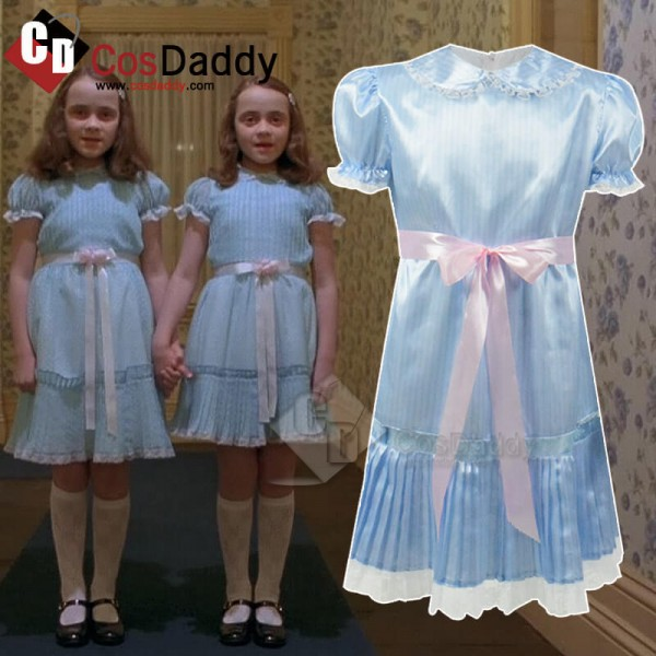 Adults The Shining Blue Dress Grady Twins Costumes...