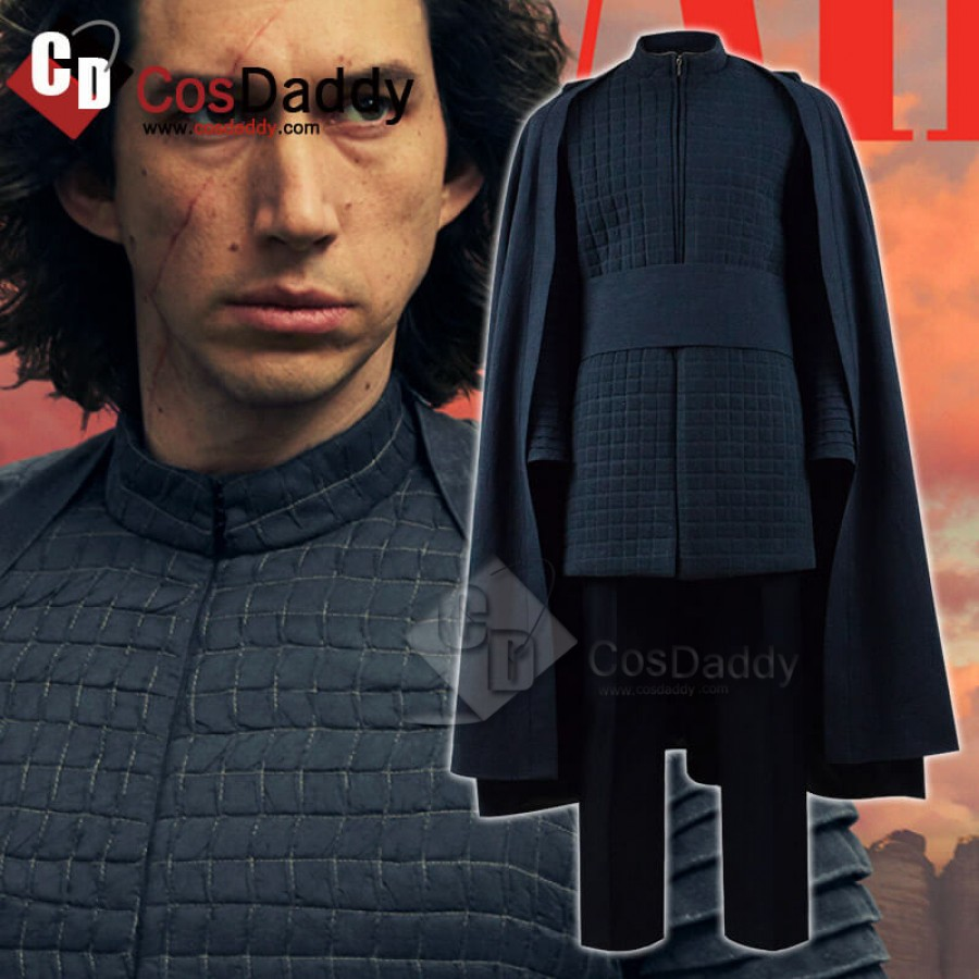 Kylo Ren Star Wars 9 The Rise Of Skywalker Cosplay Costume For Sale