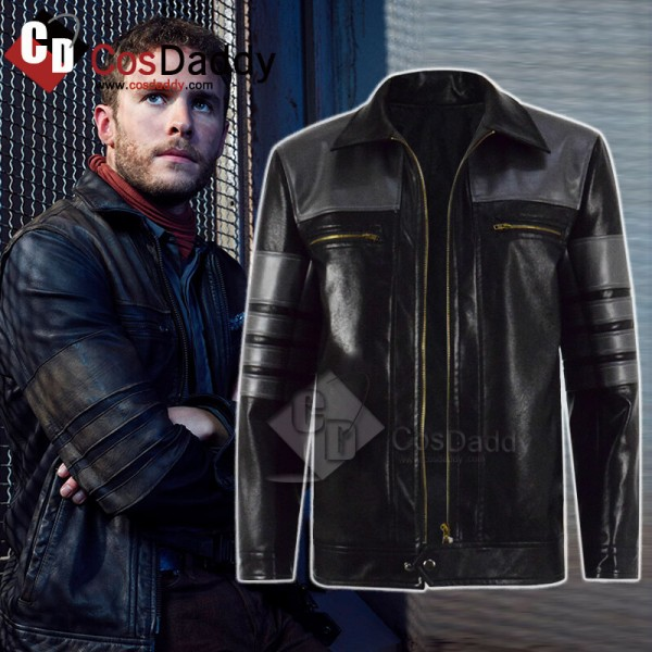 Agents Of Shield Season 5 Deke Shaw Leather Jacket...