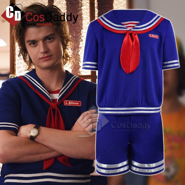 Stranger Things Season 3 Steve Harrington Costumes...