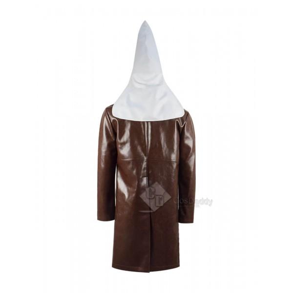 BlacKkKlansman John David Washington Coat White Hat Cosplay Costume