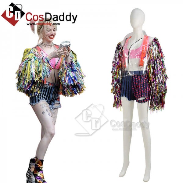 2020 DC Birds of Prey Harley Quinn Costumes Cospla...