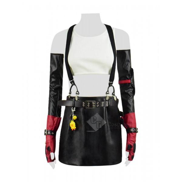 Sexy Final Fantasy VII Remake Tifa Lockhart Full Set Cosplay Costume 2019