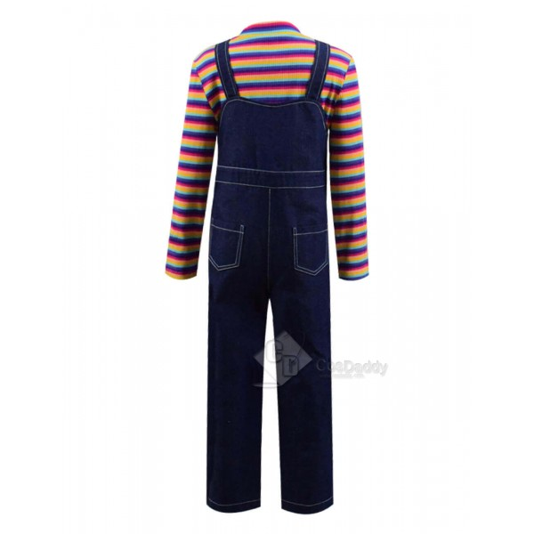 CosDaddy Child's Play 3 Buddi Chucky Cosplay Costume Halloween Ideas