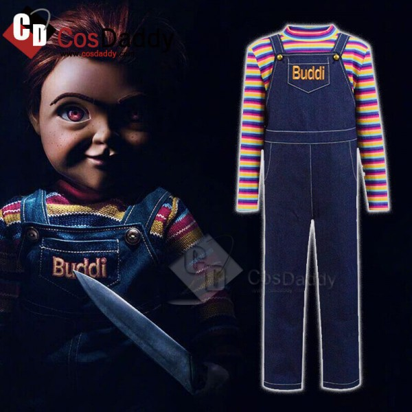 CosDaddy Child's Play 3 Buddi Chucky Cosplay Costu...