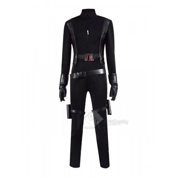 Avengers Black Widow Natasha Romanoff Halloween Cosplay Costume Womens