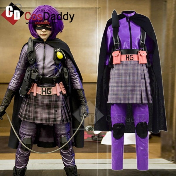 Kick-Ass Hit Girl Dress Mindy Macready Cospaly Cos...