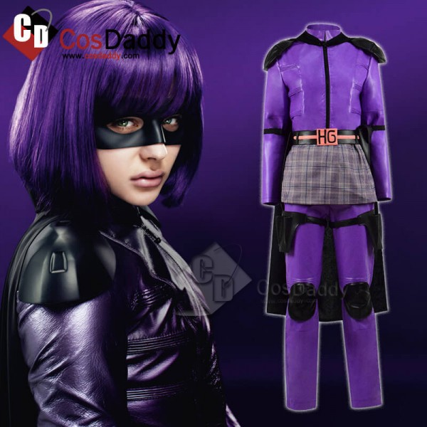 Kick-Ass 2 Hit Girl Mindy Macready Halloween Cospl...