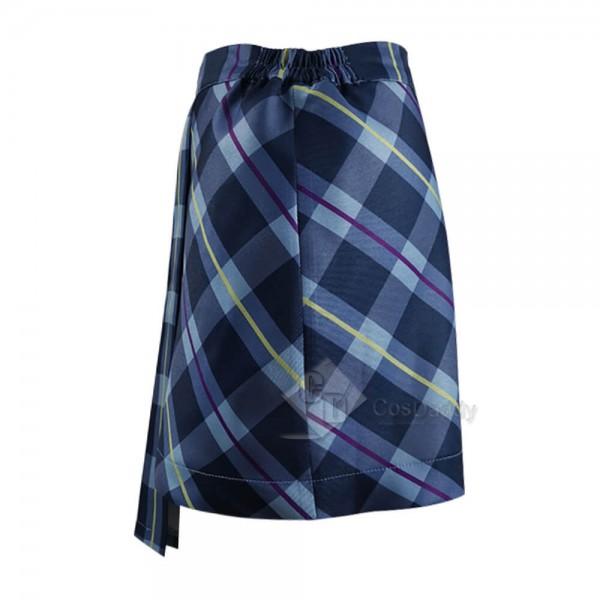 Legacies Season 2 Hope Mikaelson Skirt Plaid Cosplay Costume