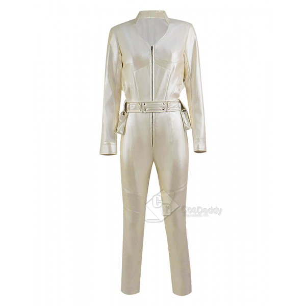 CosDaddy DC Legends of Tomorrow White Canary Sara Lance Outfit Cosplay Costume