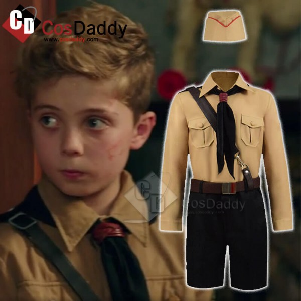 CosDaddy Jojo Rabbit Children Child Jojo Cosplay Costume 2019