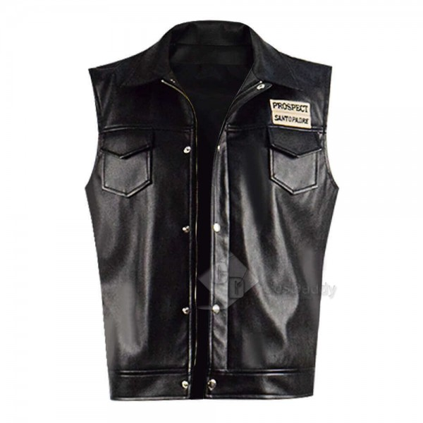 CosDaddy Mayans MC Ezekiel Reyes Leather Vest Coat For Sale