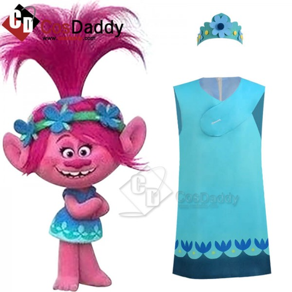 Trolls World Tour Child Women Princess Party Troll...
