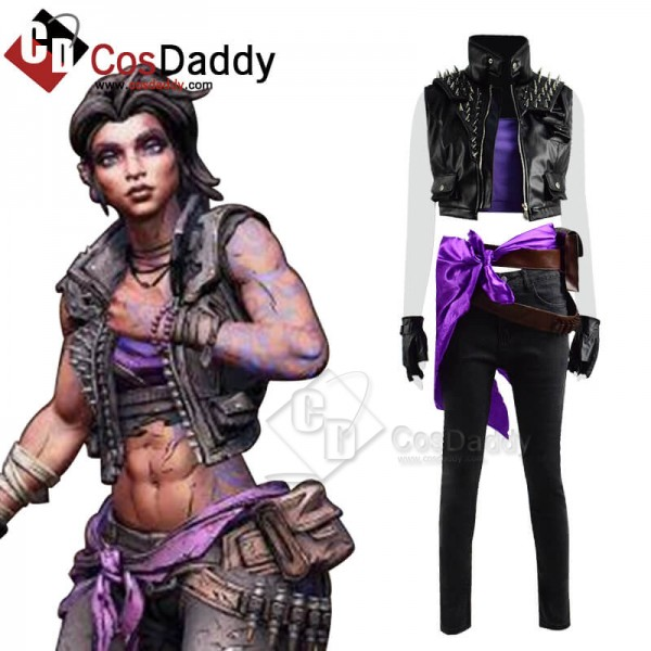 Game Borderlands 3 Amara Costume Cosplay Suit CosD...