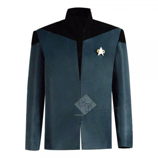 Star Trek The Next Generation Picard Uniform Jacket Coat Cosplay Costume