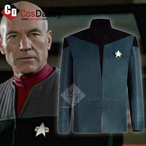 Star Trek The Next Generation Picard Uniform Jacke...