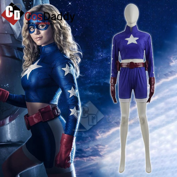 Blue DC Stargirl Courtney Whitmore Superhero Cospl...