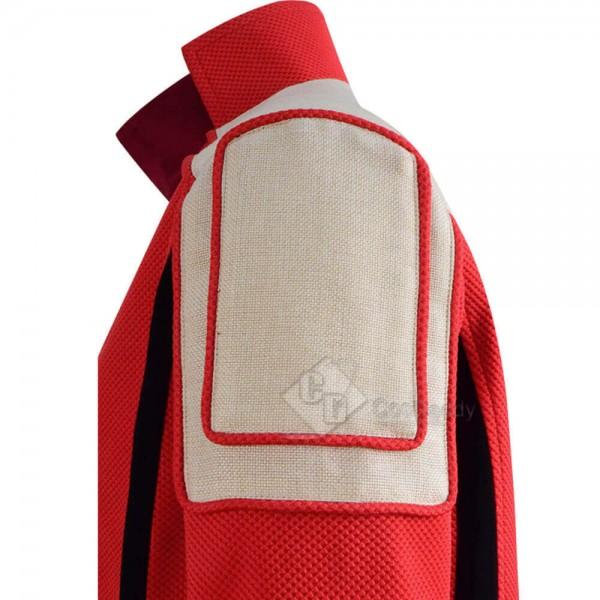 2020 Sonic The Hedgehog Dr.Robotnik Red Jacket Coat Cosplay Costume