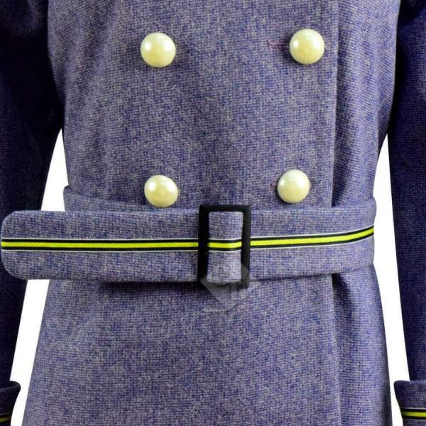 2020 The Secret Garden Mary Lennox Woolen Trench Coat Cosplay Costume