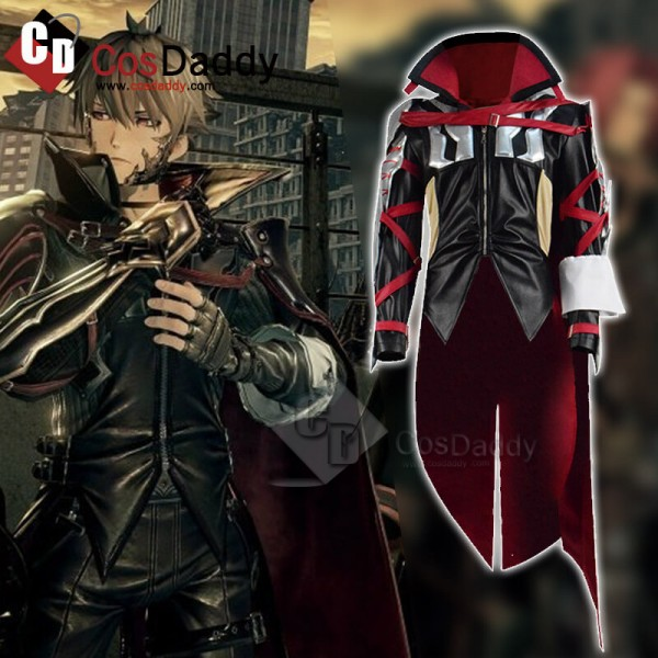 Video Game Code Vein Louis Amamiya Cosplay Costume...