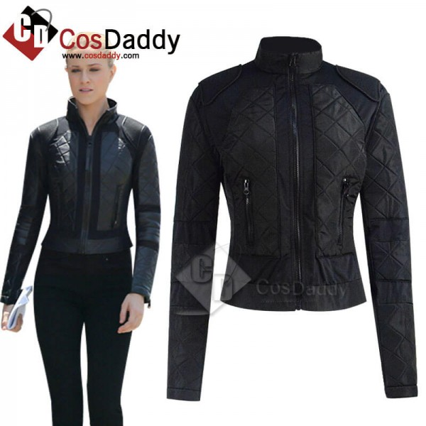 2020 Westworld Season 3 Dolores Abernathy Black Jacket Coat Cosplay Costume