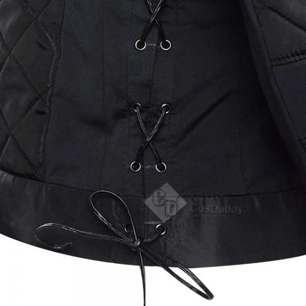 2020 Westworld Season 3 Dolores Abernathy Black Jacket Coat Cosplay Costume