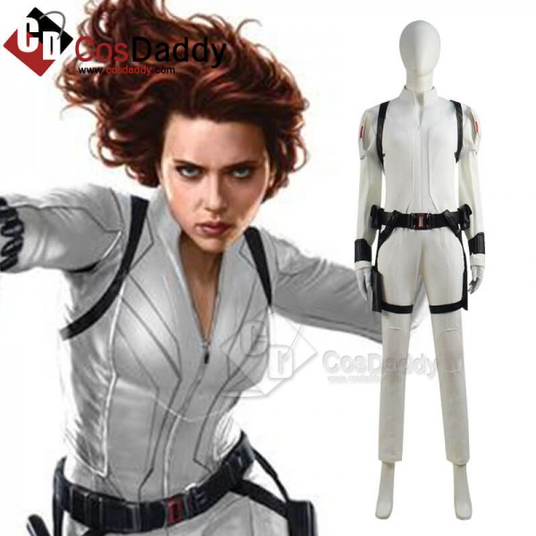 Black Widow 2020 Natalia Romanova White Outfit Sui...
