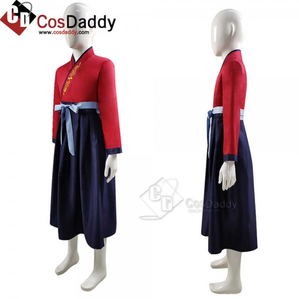 Best 2020 Boys Kids Hua Mulan Costume Disney Cospl...