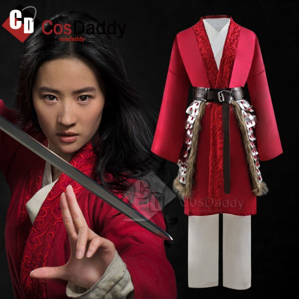 2020 Disney Mulan Hua Mulan Cosplay Costumes Waist...