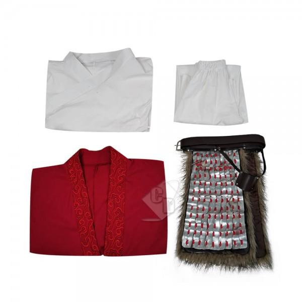 2020 Disney Mulan Hua Mulan Cosplay Costumes Waist Armor Full Set