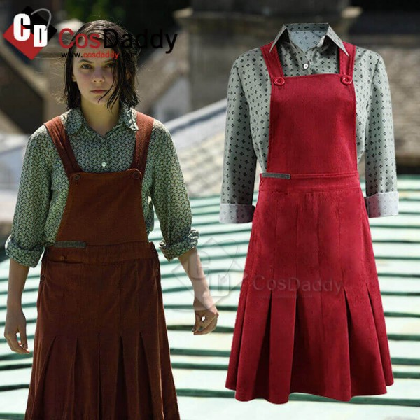 His Dark Materials Season 1 Lyra Belacqua Costume ...