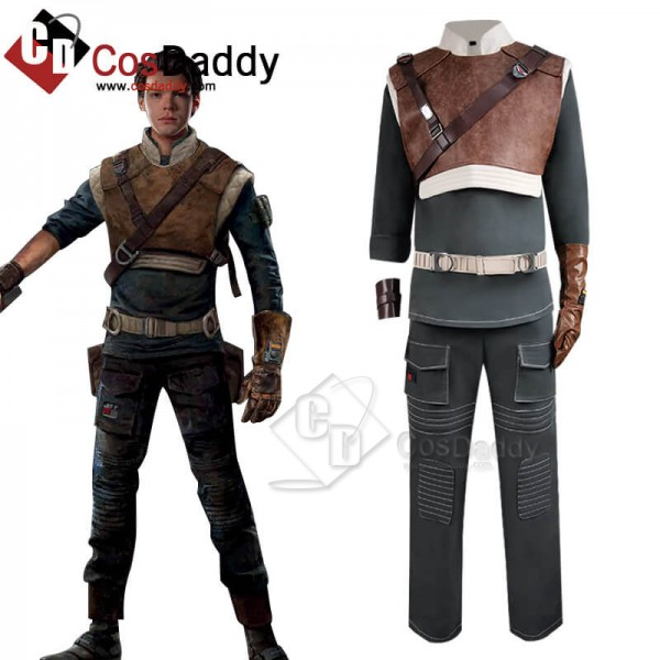 Star Wars Jedi Fallen Order Cal Kestis Uniform Sui...