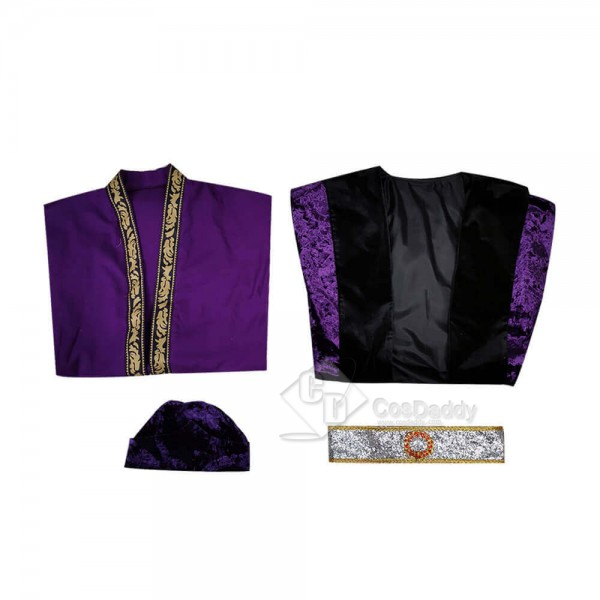 Harry Potter Albus Percival Wulfric Brian Dumbledore Purple Cosplay Costume Women