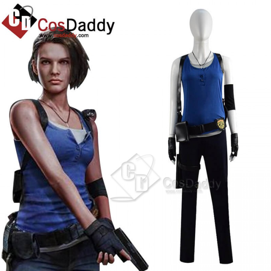 Resident Evil 3 Remake Jill Valentine Classic Costume Outfits