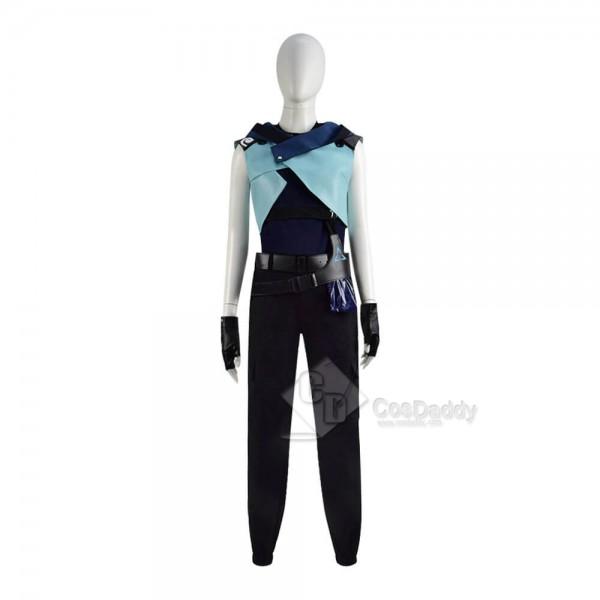 Buy Game Valorant Jett Cosplay Costume For Halloween