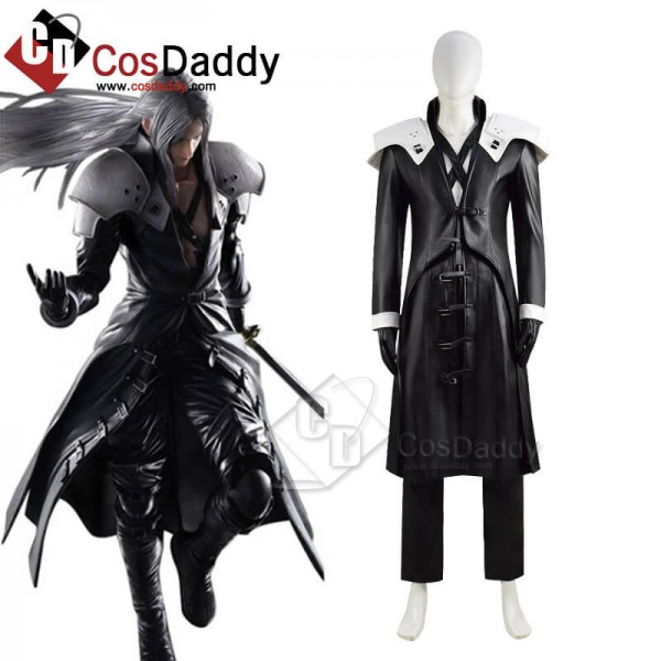 Final Fantasy VII Remake FF7 Sephiroth Cosplay Cos...