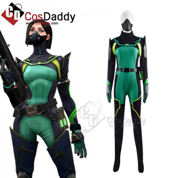 Best Valorant Viper Cosplay Costume For Halloween