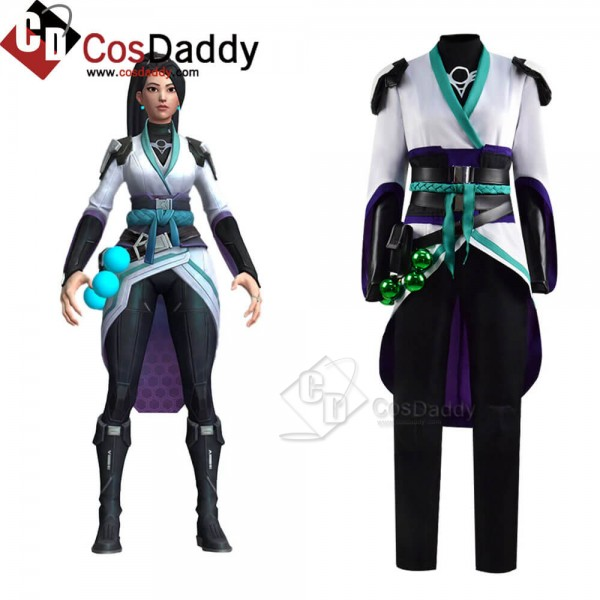 Buy Valorant Sage Cosplay Costume Guide For Hallow...