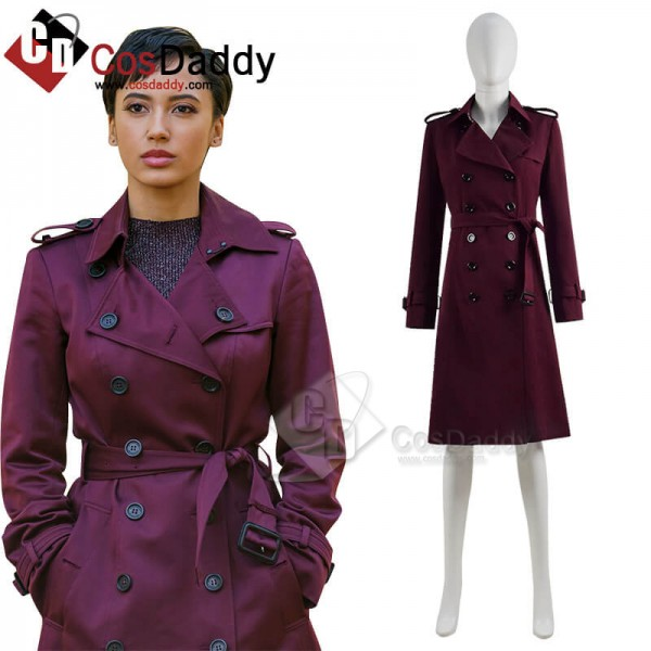 Upload Season 1 Nora Antony Trench Coat Cosplay Co...