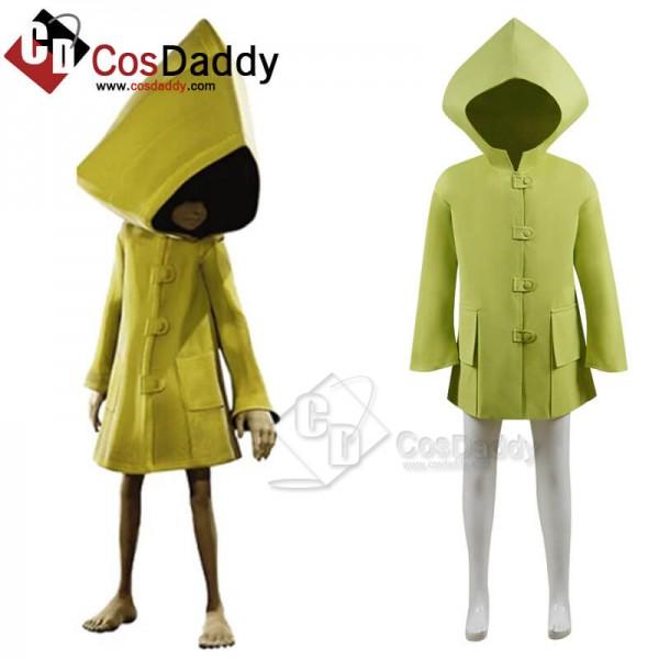 Kids Adults Little Nightmares Six Coat Cosplay Cos...