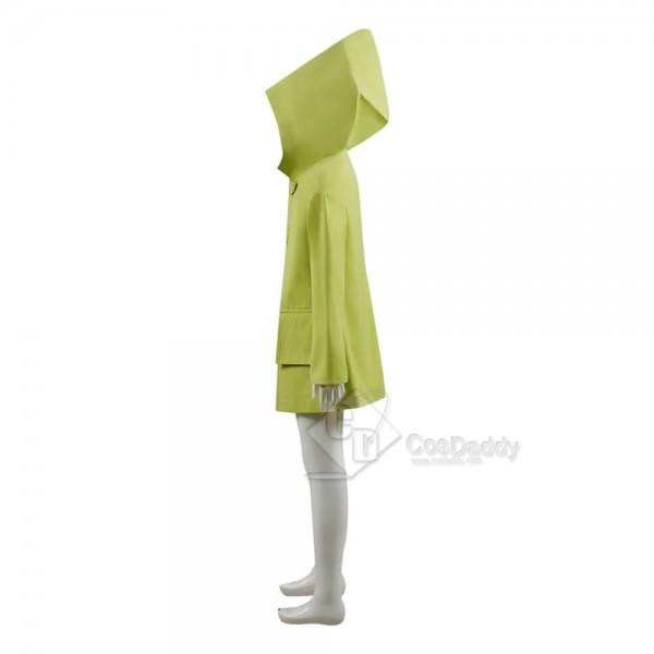 Kids Adults Little Nightmares Six Coat Cosplay Costume
