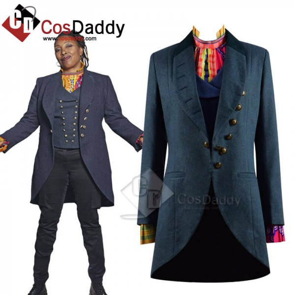 Doctor Who Series 12 Ruth Doctor Who Cosplay Costu...