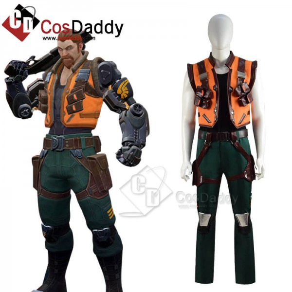 Best Valorant Breach Cosplay Costume Guide For Hal...
