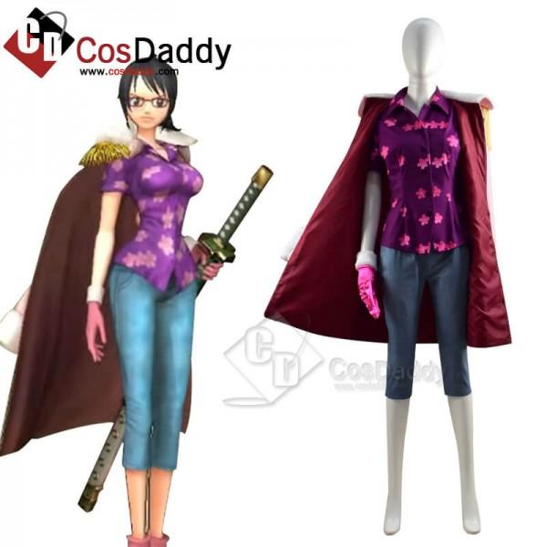 One Piece Pirate Warriors 4 Tashigi Cosplay Costume