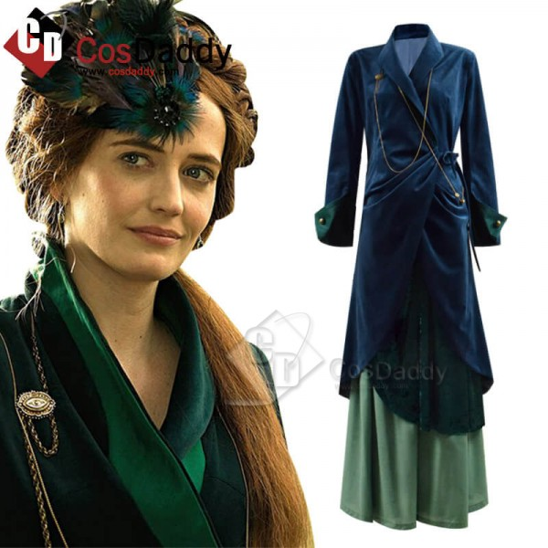 The Luminaries Eva Green Dress Cosplay Costume