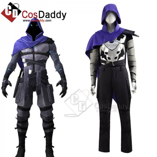 CosDaddy Game Valorant Omen Cosplay Costume